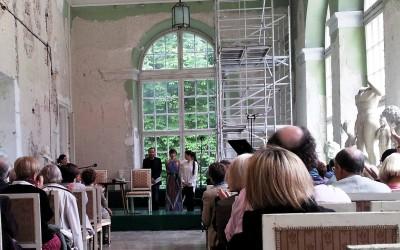 Poetry Salon, Royal Park Łazienki Krolewskie, Warsaw